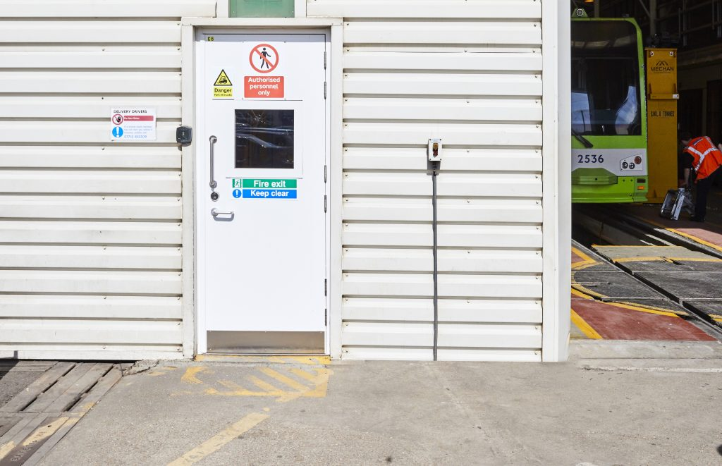 Croydon Tramline Depot